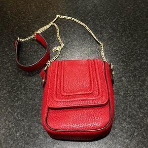 Sam & Libby Red Crossbody Handbag